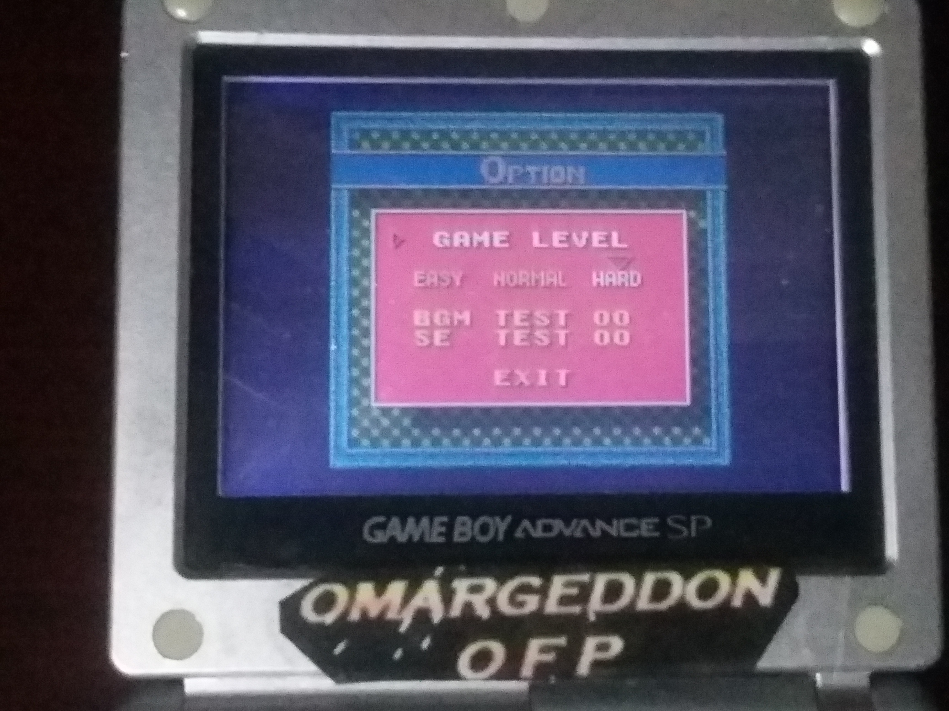 omargeddon: Ballistic [Hard] (Game Boy Color) 58,000 points on 2018-01-19 18:50:34