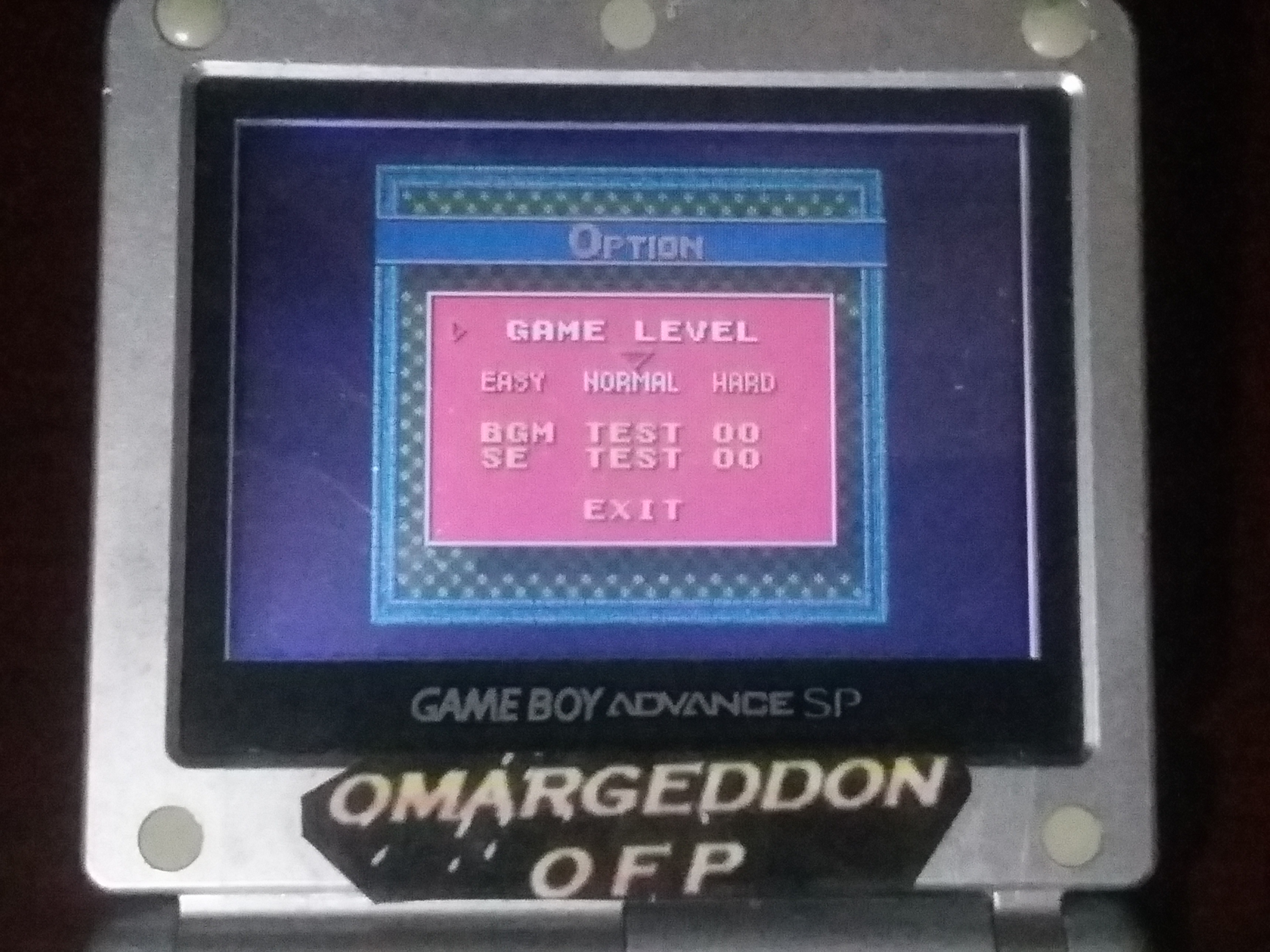 omargeddon: Ballistic [Normal] (Game Boy Color) 57,600 points on 2018-01-19 18:44:43