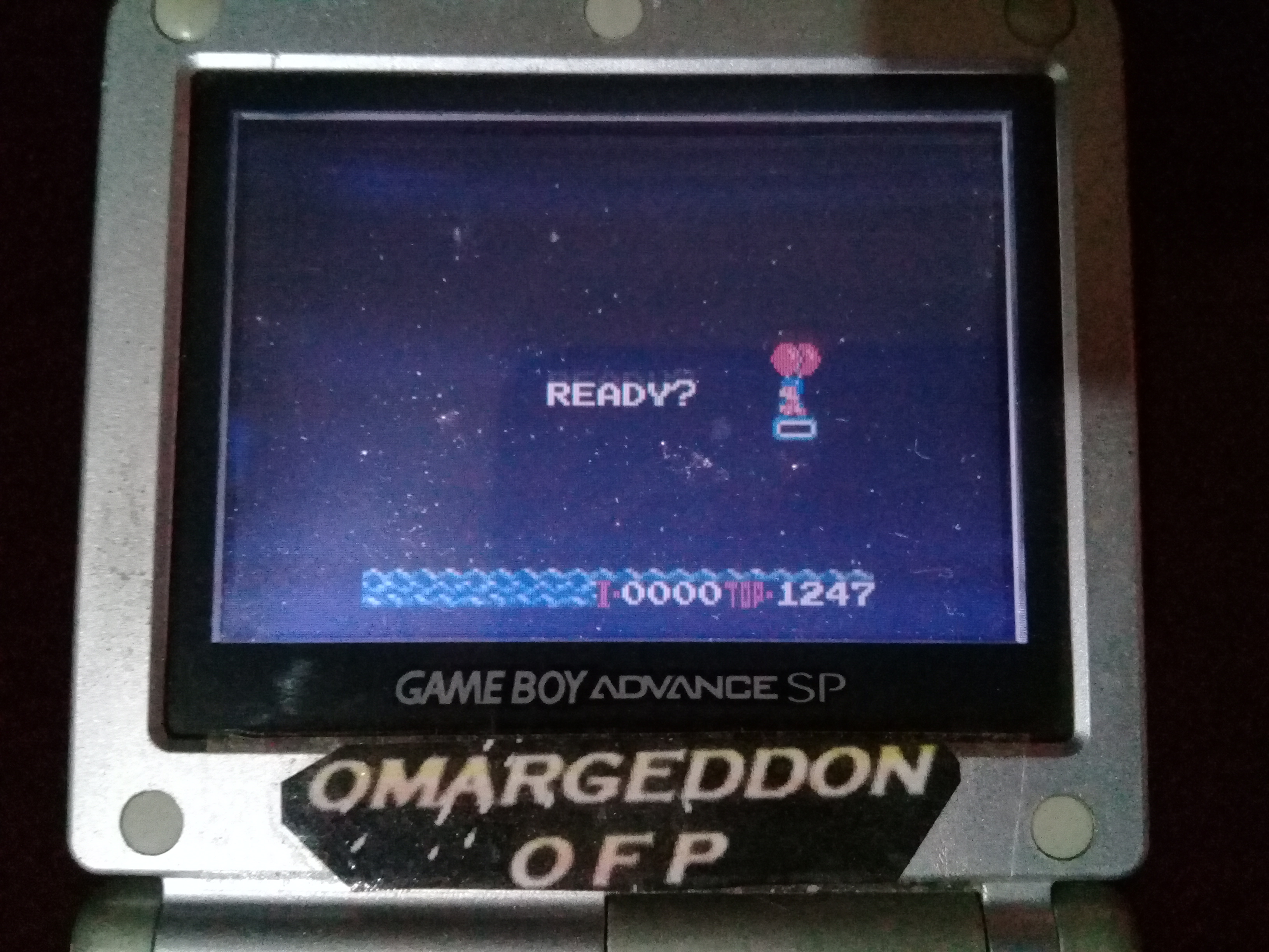 omargeddon: Balloon Balloon (Game Boy Color) 1,247 points on 2019-08-25 12:49:13