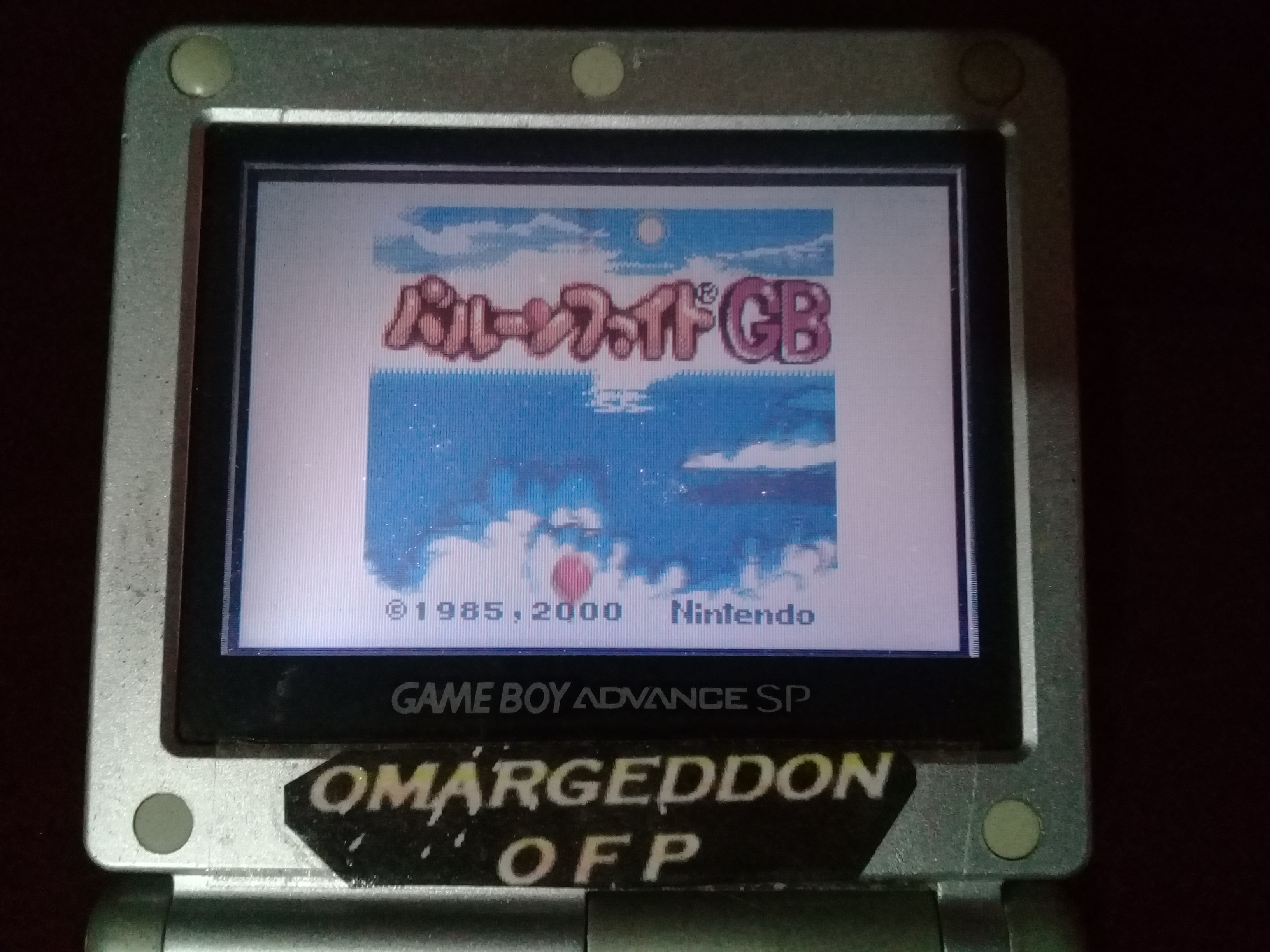 omargeddon: Balloon Fight GB (Game Boy Color) 87,200 points on 2019-08-25 13:16:22