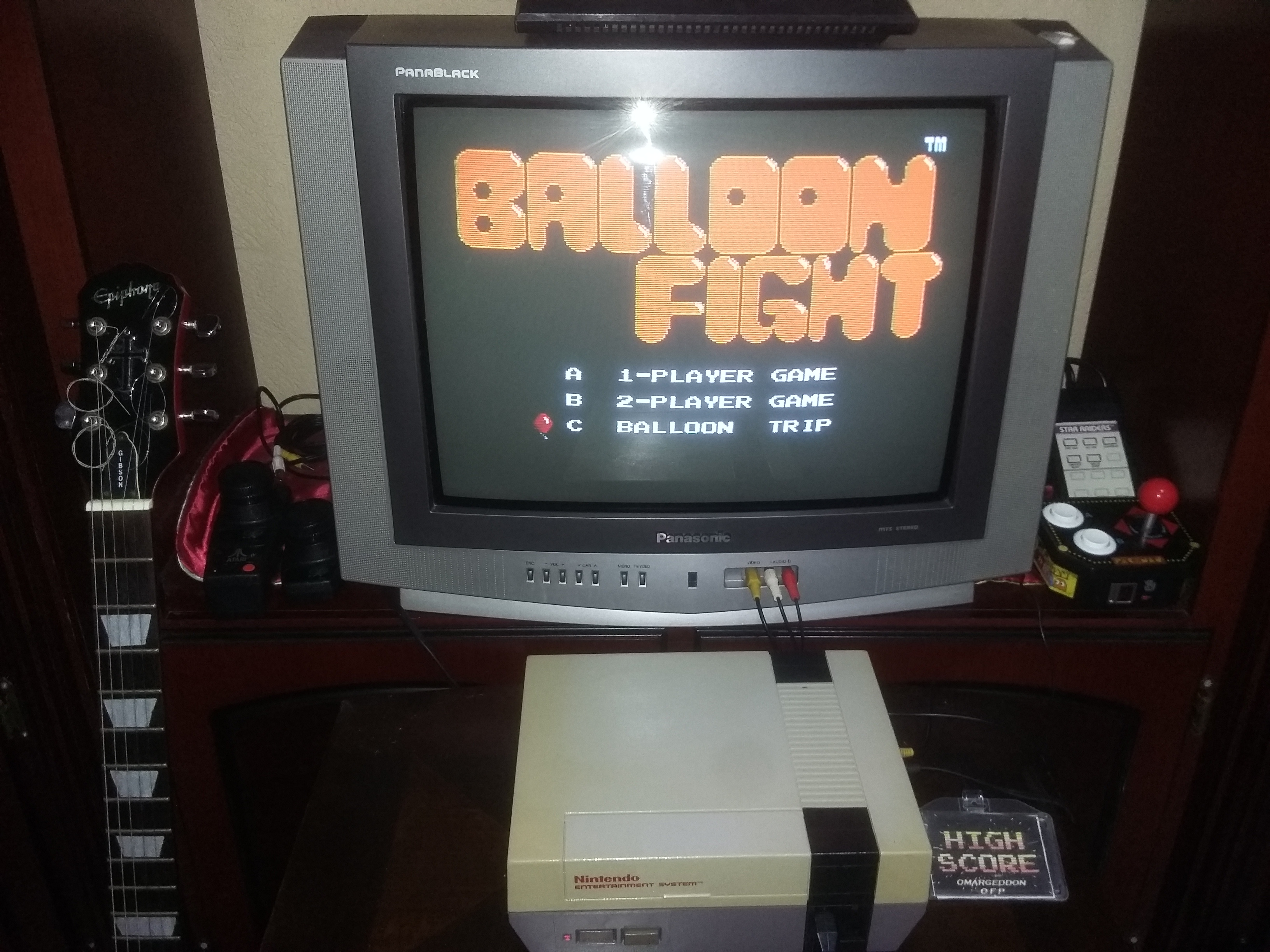omargeddon: Balloon Fight: Game C [Balloon Trip] (NES/Famicom) 27,120 points on 2017-08-08 00:41:09