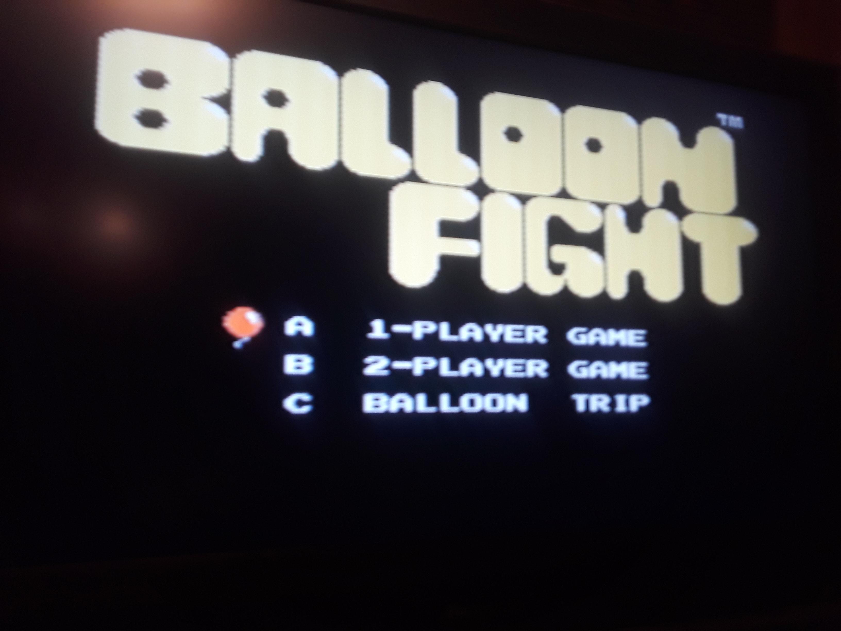 Balloon Fight 40,700 points