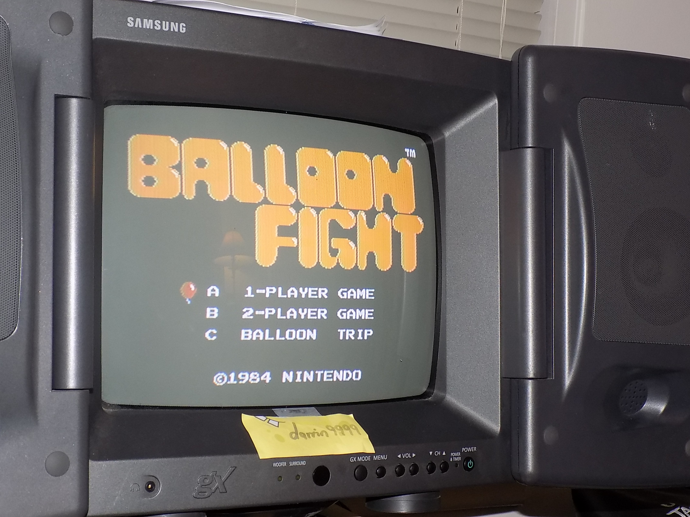darrin9999: Balloon Fight (NES/Famicom) 47,700 points on 2018-01-22 23:29:54