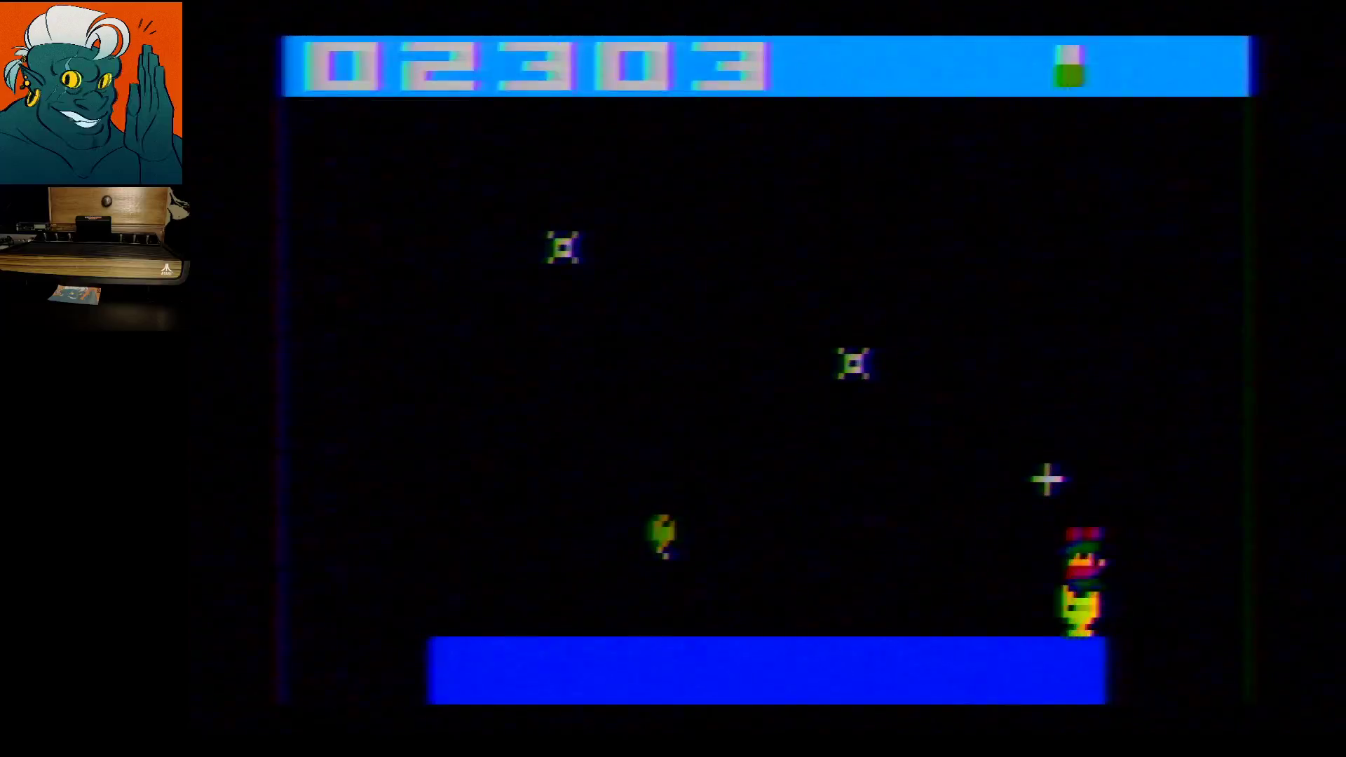 AwesomeOgre: Balloon Trip (Atari 2600) 2,303 points on 2019-11-23 12:52:56