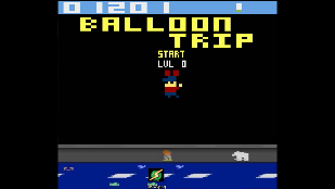 S.BAZ: Balloon Trip (Atari 2600 Emulated) 1,201 points on 2019-11-27 04:33:48