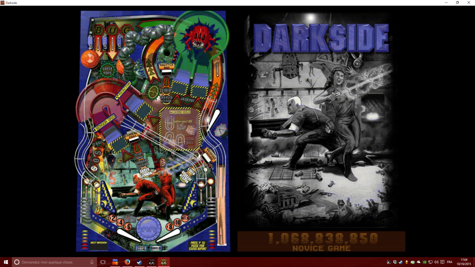 Mantalow: Balls of Steel: Darkside [Novice] (PC) 1,068,838,850 points on 2015-10-10 11:22:21