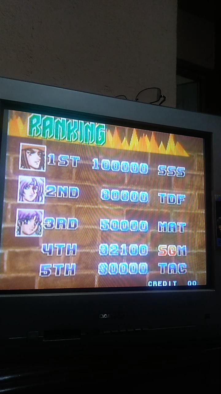 Sdrgio797: Bang Bead (Arcade Emulated / M.A.M.E.) 32,100 points on 2020-08-05 18:06:48