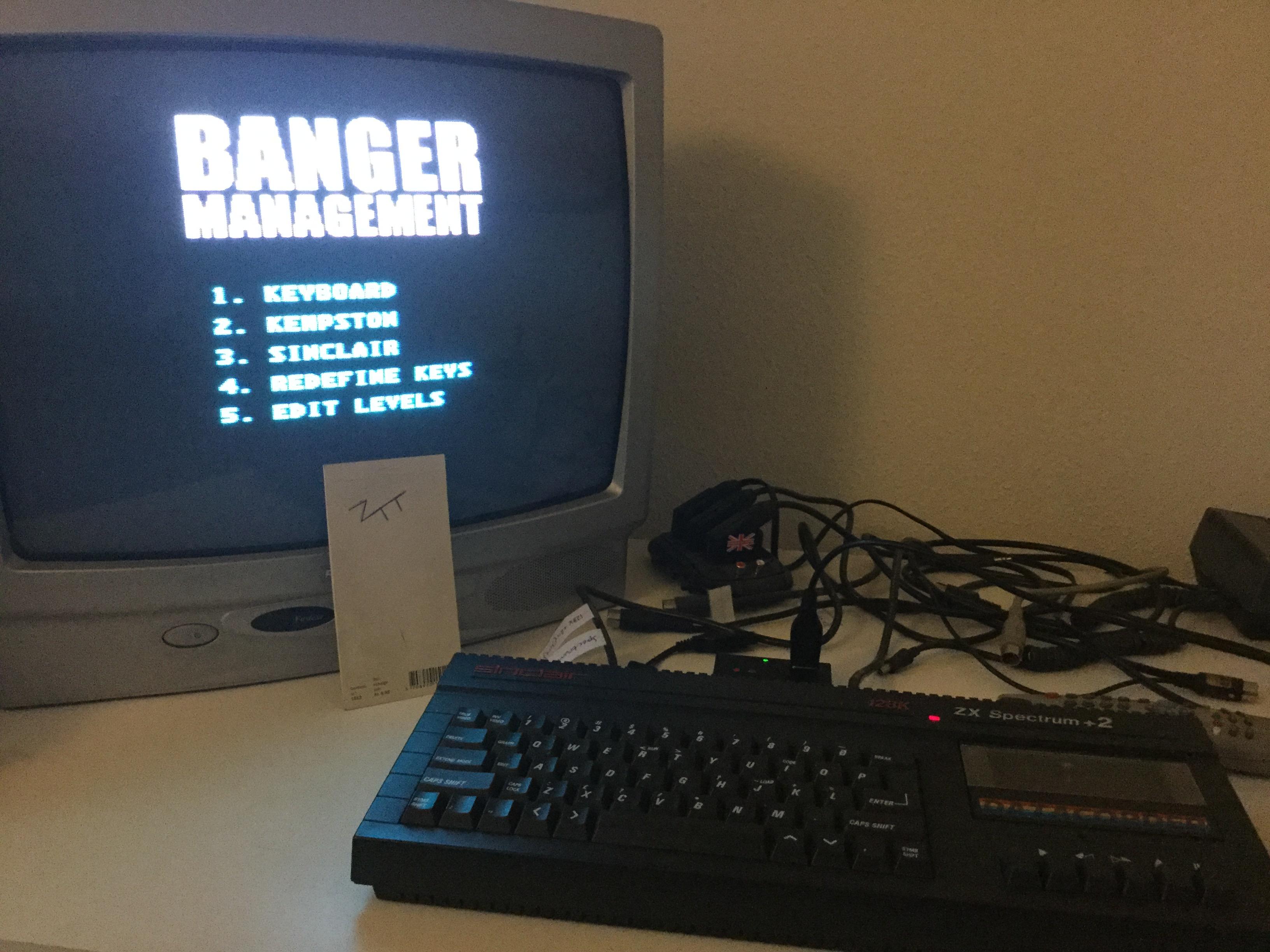 Frankie: Banger Management (ZX Spectrum) 310 points on 2017-12-27 02:56:13