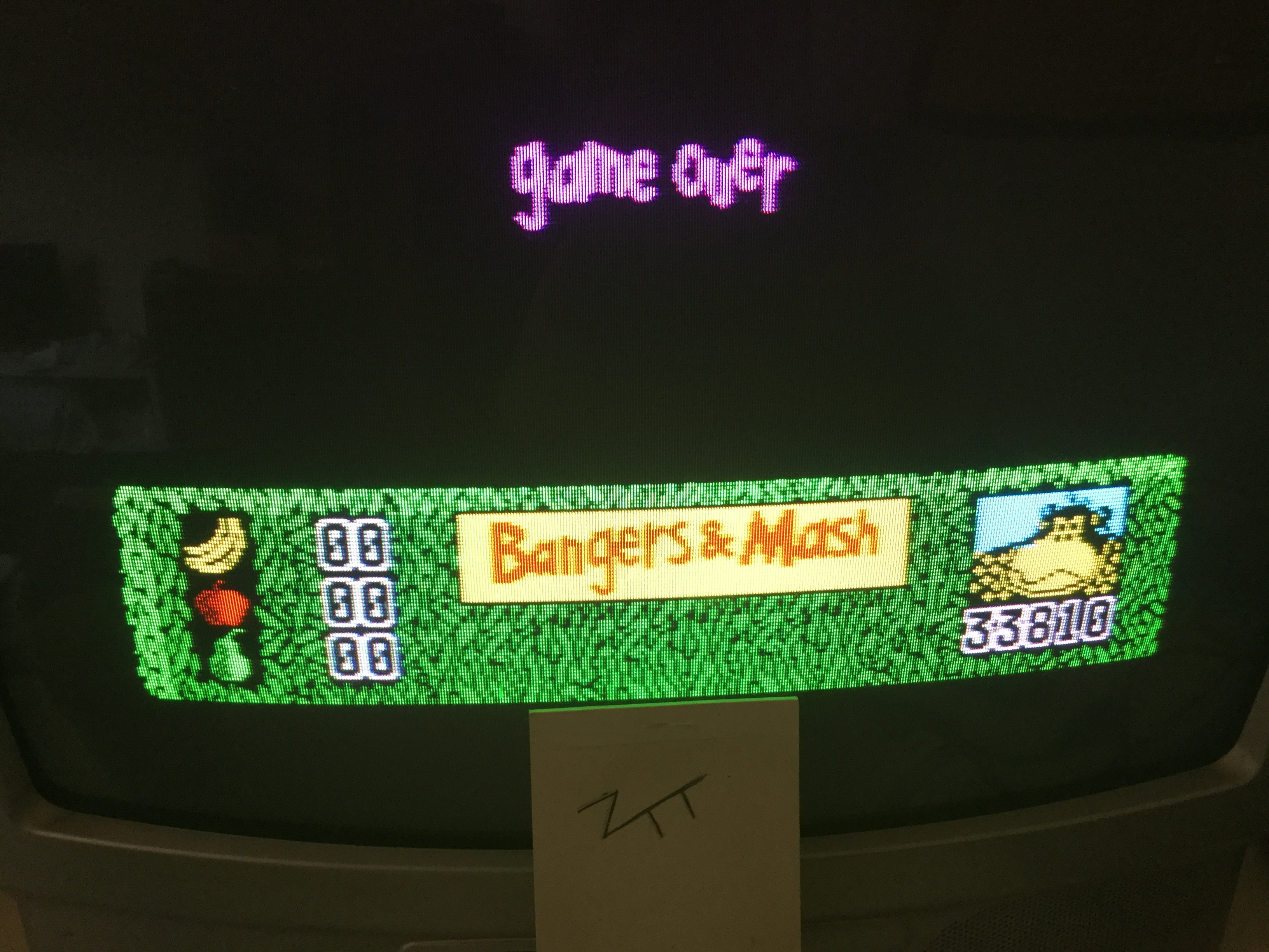 Frankie: Bangers & Mash [100,000 Points Completion Bonus] (ZX Spectrum) 33,810 points on 2017-12-27 05:29:20