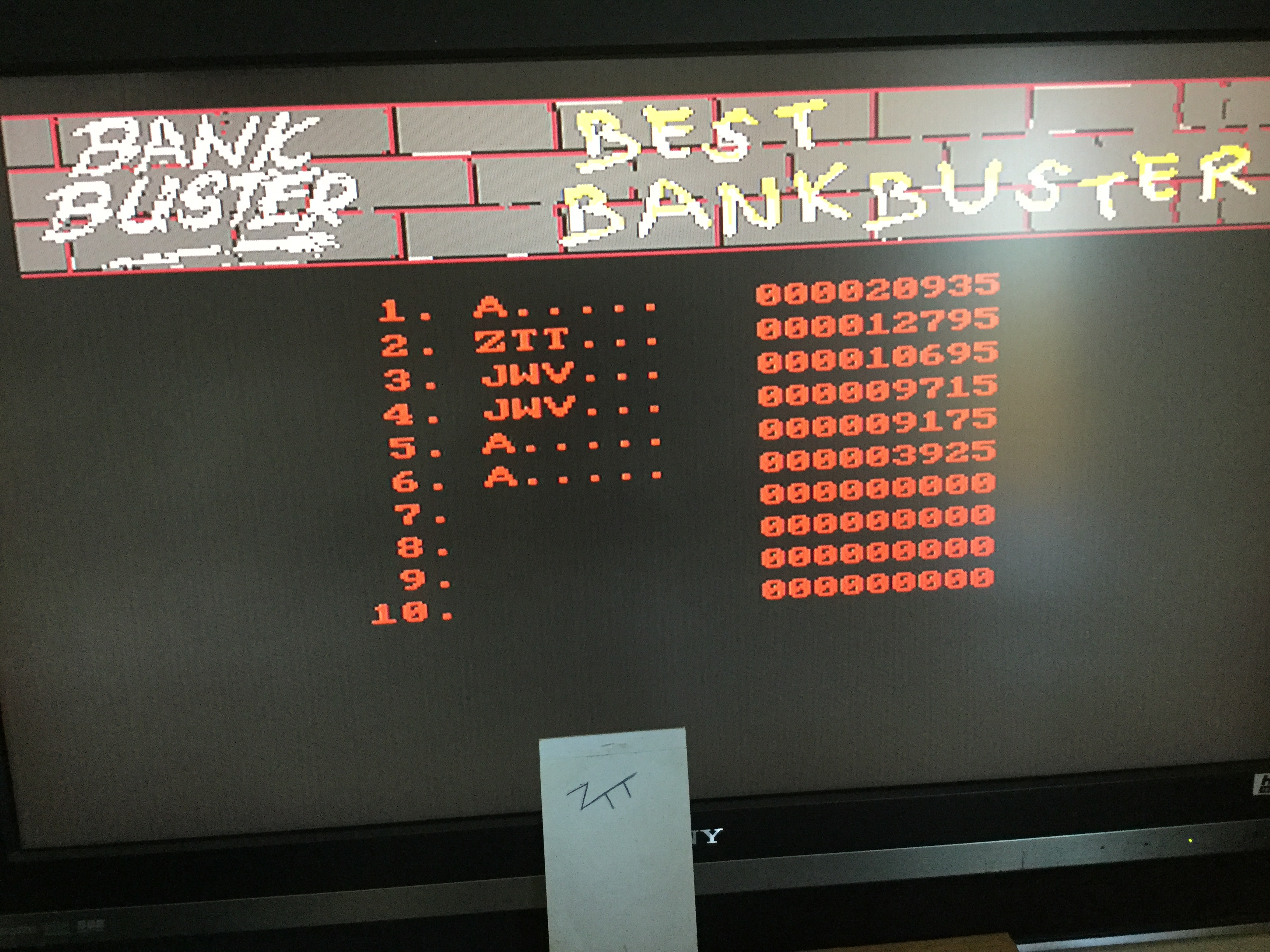 Frankie: Bank Buster [Normal Speed] (Amiga) 12,795 points on 2020-04-04 04:26:19