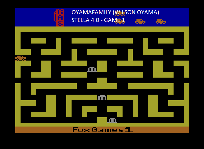 oyamafamily: Bank Heist (Atari 2600 Emulated Expert/A Mode) 35,009 points on 2015-08-14 19:13:30