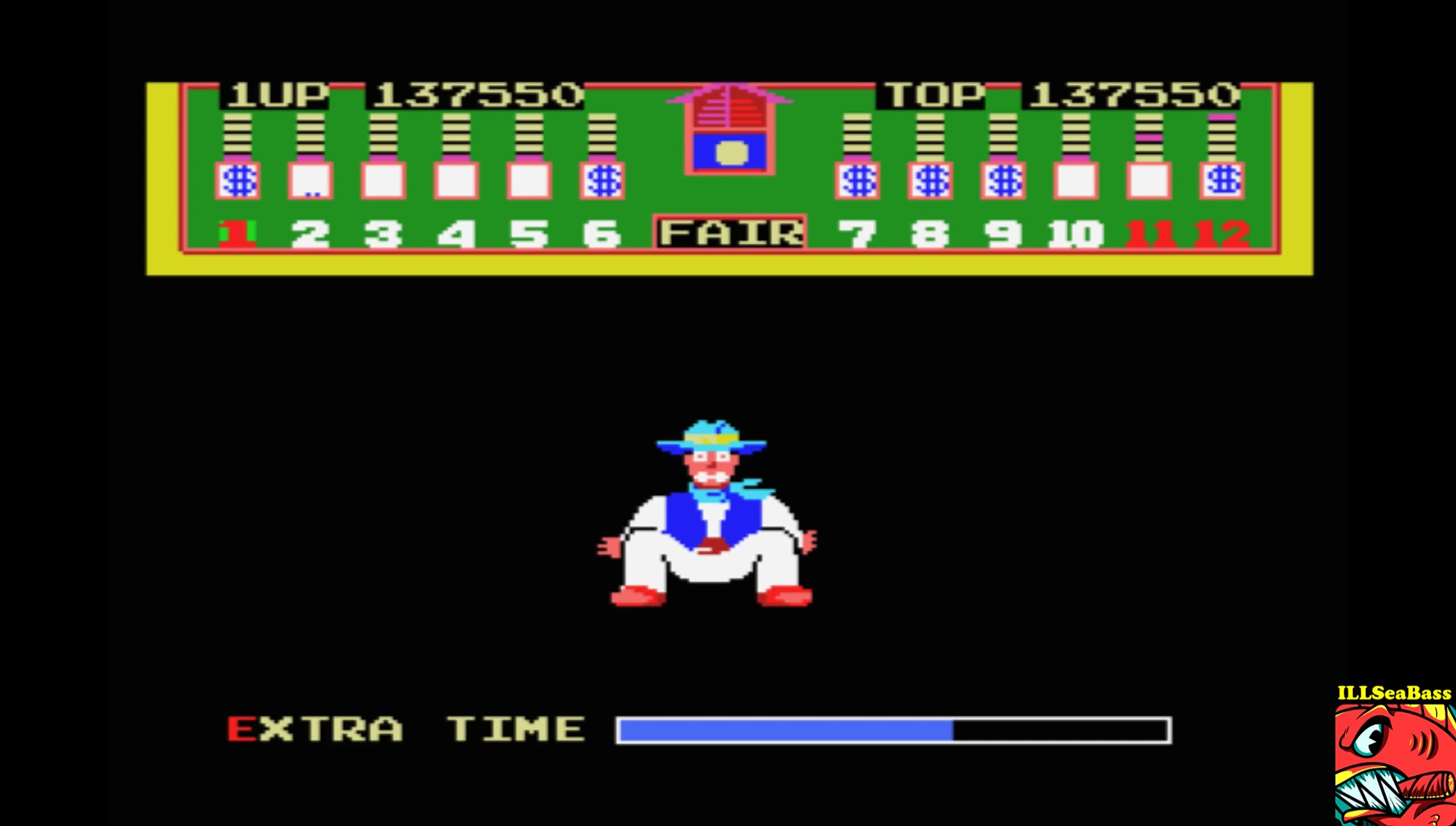 ILLSeaBass: Bank Panic [Level 1 Start] (MSX Emulated) 137,550 points on 2017-07-22 18:12:07