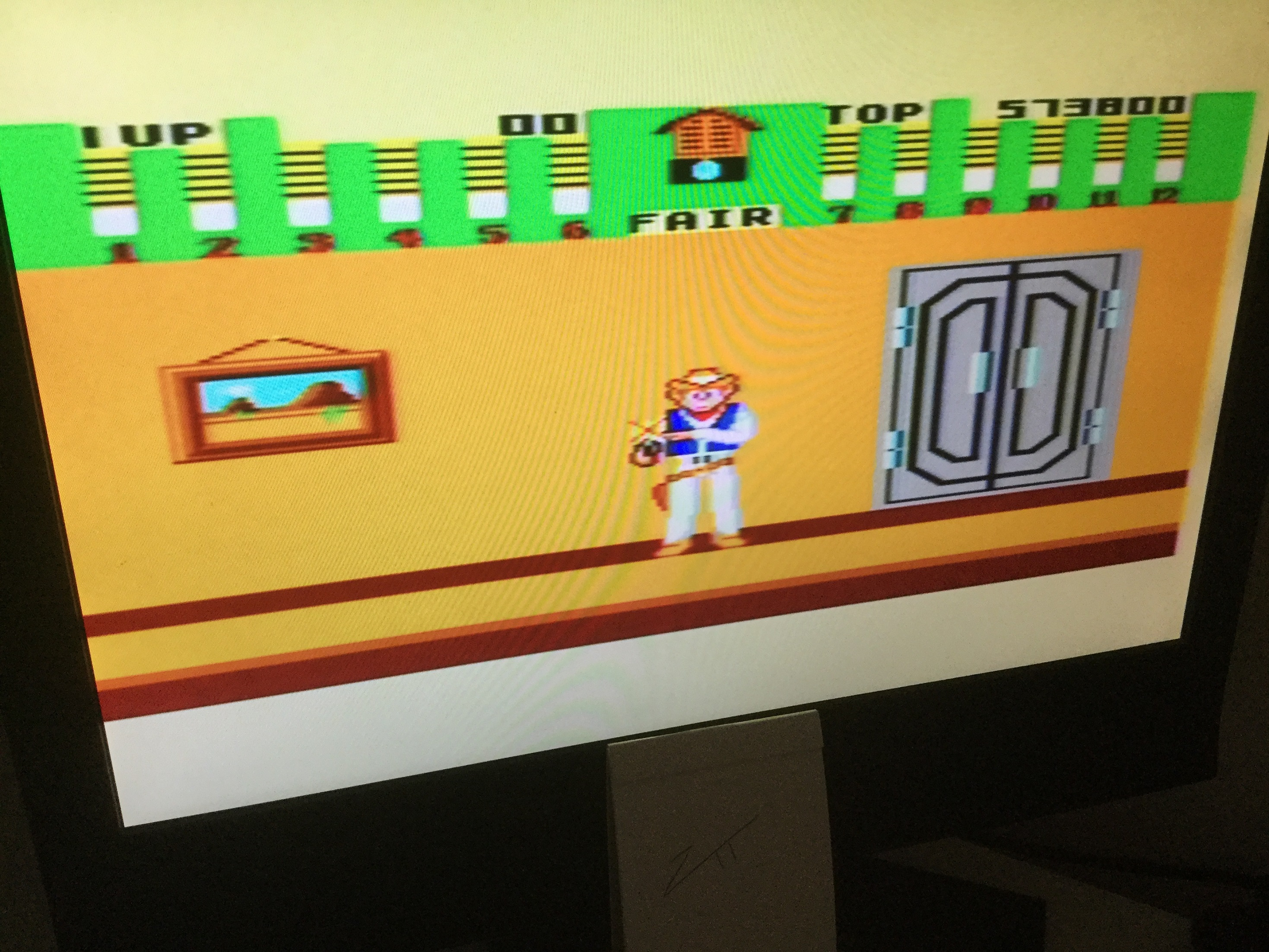 Frankie: Bank Panic (Sega Master System) 573,800 points on 2020-12-25 11:56:45