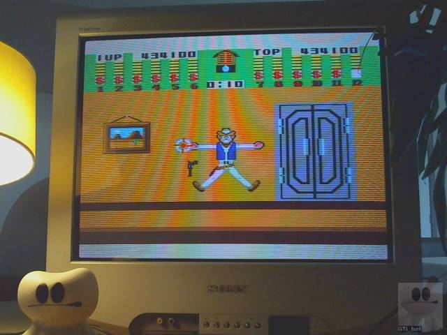 GTibel: Bank Panic (Sega Master System) 434,100 points on 2019-09-16 01:45:26