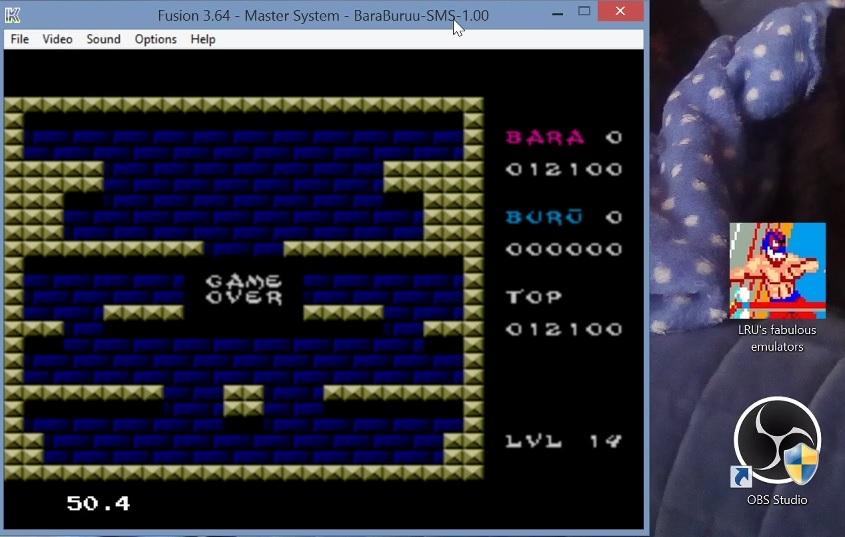 LuigiRuffolo: Bara Buru (Sega Master System Emulated) 12,100 points on 2020-12-25 03:57:27