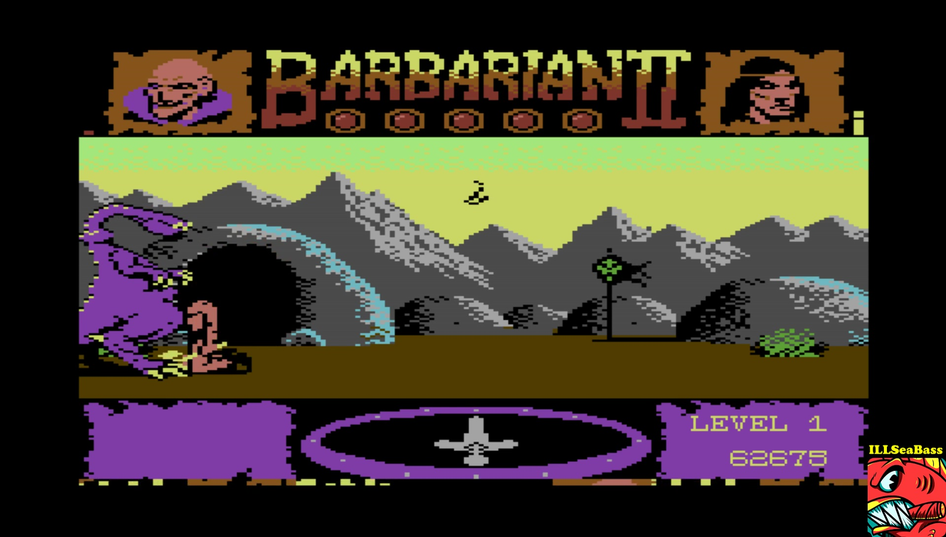 ILLSeaBass: Barbarian II (Commodore 64 Emulated) 62,675 points on 2017-04-15 22:22:09