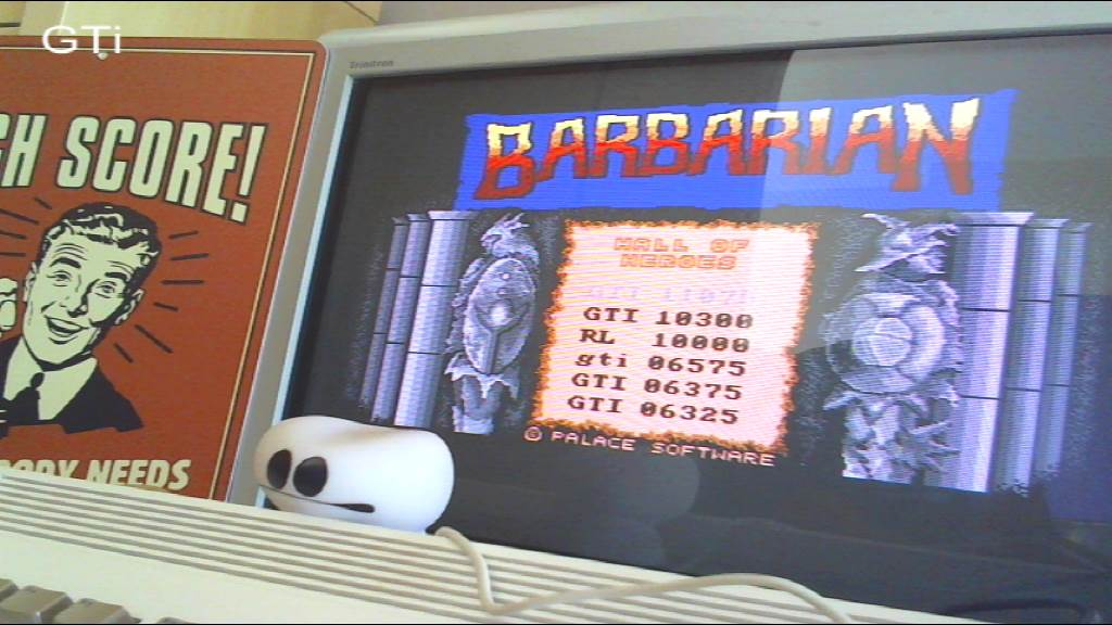 GTibel: Barbarian: The Ultimate Warrior [1 Player] (Amiga) 11,075 points on 2016-09-01 00:58:00