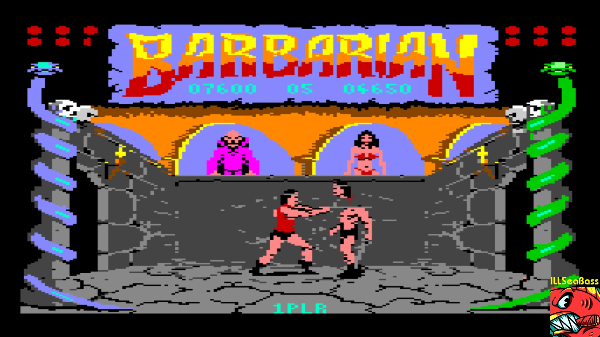 ILLSeaBass: Barbarian: The Ultimate Warrior (Commodore 64 Emulated) 7,600 points on 2018-01-04 21:11:37