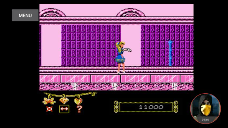 omargeddon: Barbie (NES/Famicom Emulated) 11,000 points on 2018-04-25 16:13:28