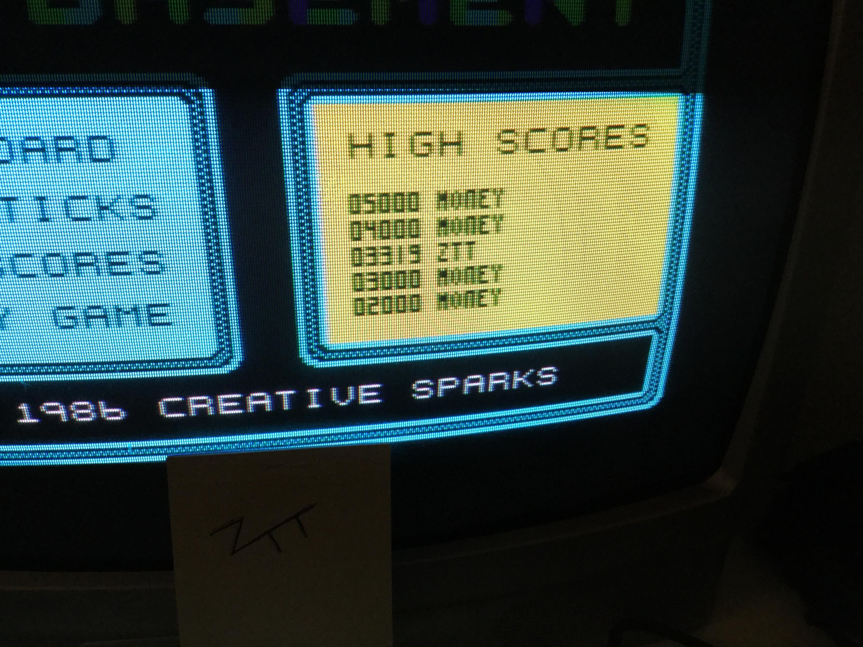 Frankie: Bargain Basement!!! (ZX Spectrum) 3,319 points on 2018-01-18 04:13:59