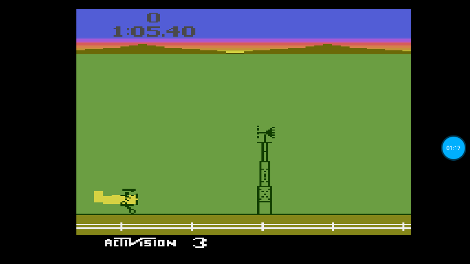omargeddon: Barnstorming: Game 3 (Atari 2600 Emulated Novice/B Mode) 0:01:05.4 points on 2018-07-14 01:32:45