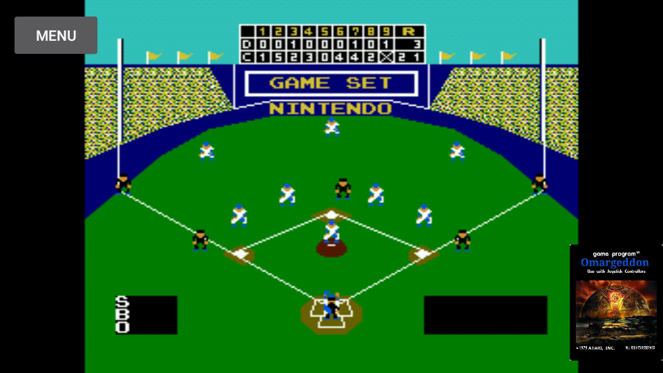 omargeddon: Baseball [Point Difference] (NES/Famicom Emulated) 18 points on 2017-11-13 10:58:25
