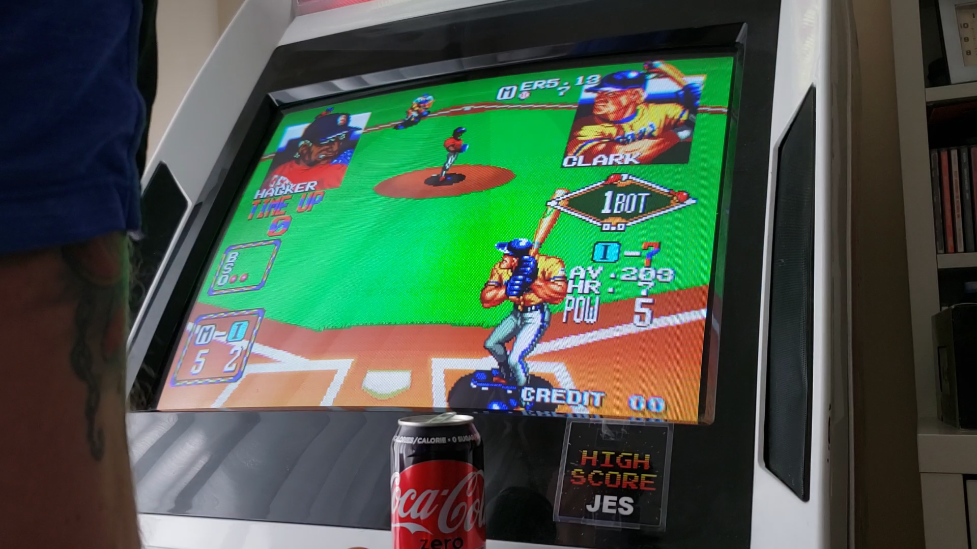 JES: Baseball Stars 2 [bstars2] (Arcade Emulated / M.A.M.E.) 5 points on 2020-03-25 13:15:33