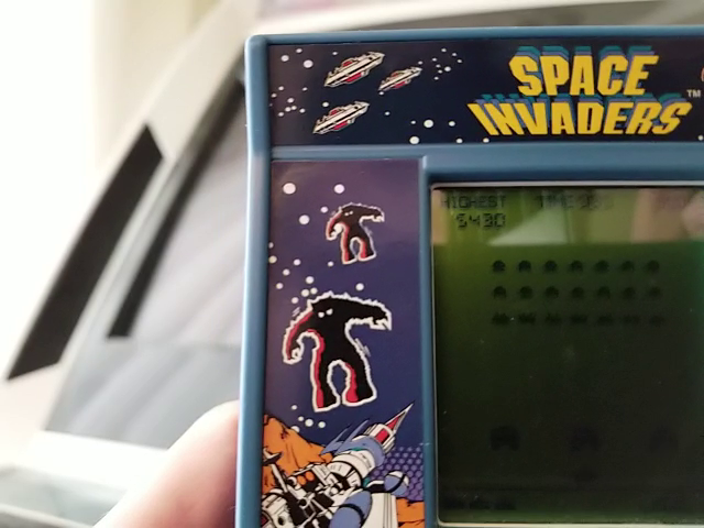 Basic Fun Space Invaders 5,430 points