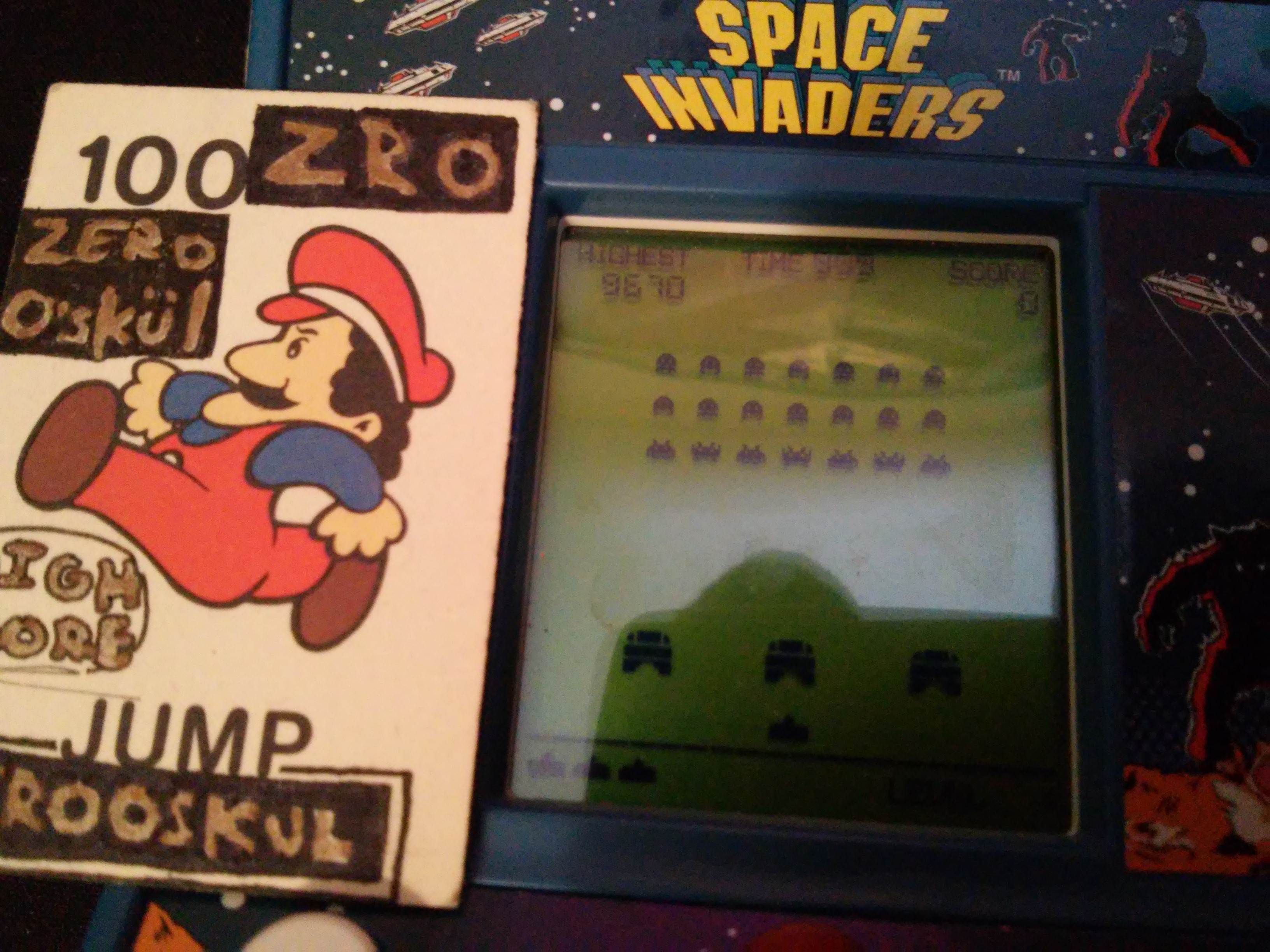 Basic Fun Space Invaders 9,670 points