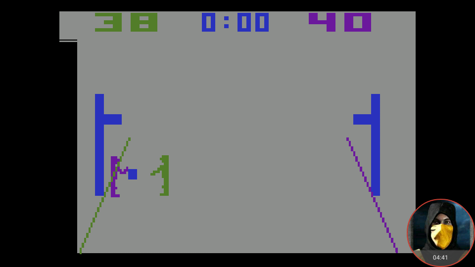omargeddon: Basketball [Point Difference] (Atari 2600 Emulated Novice/B Mode) 2 points on 2018-08-22 23:38:23