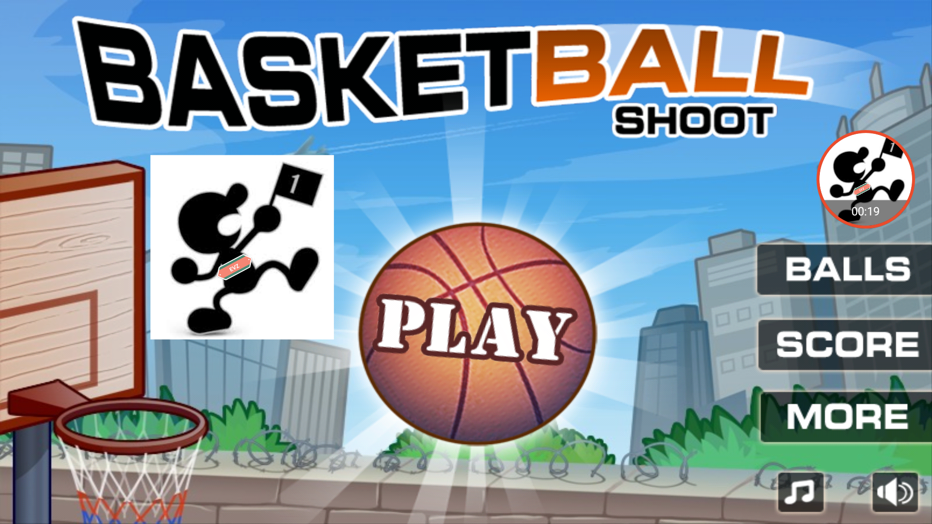 Basketball Shoot [Sunfoer Mobile] 11,676 points