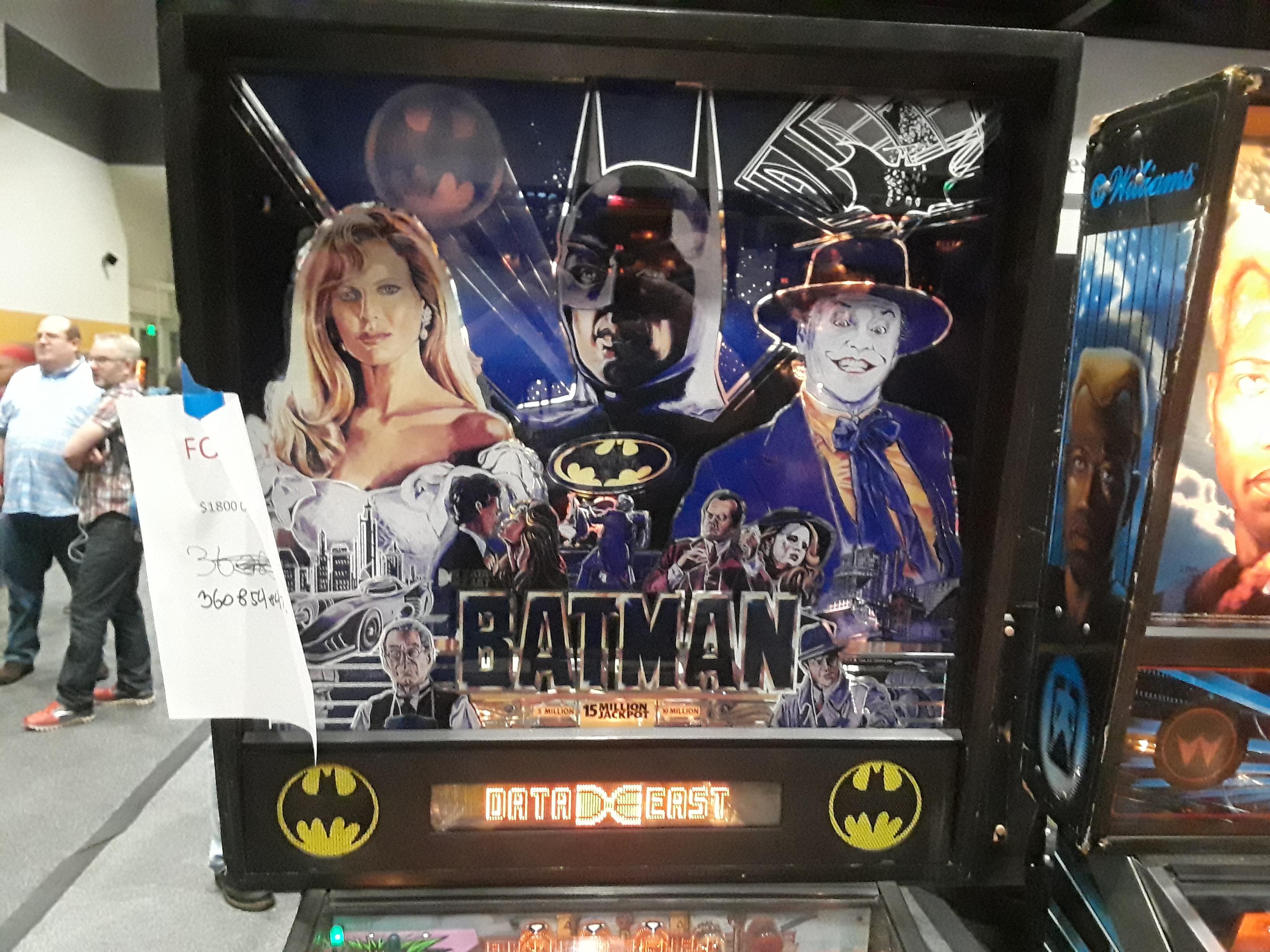 Batman [Data East] 2,184,530 points