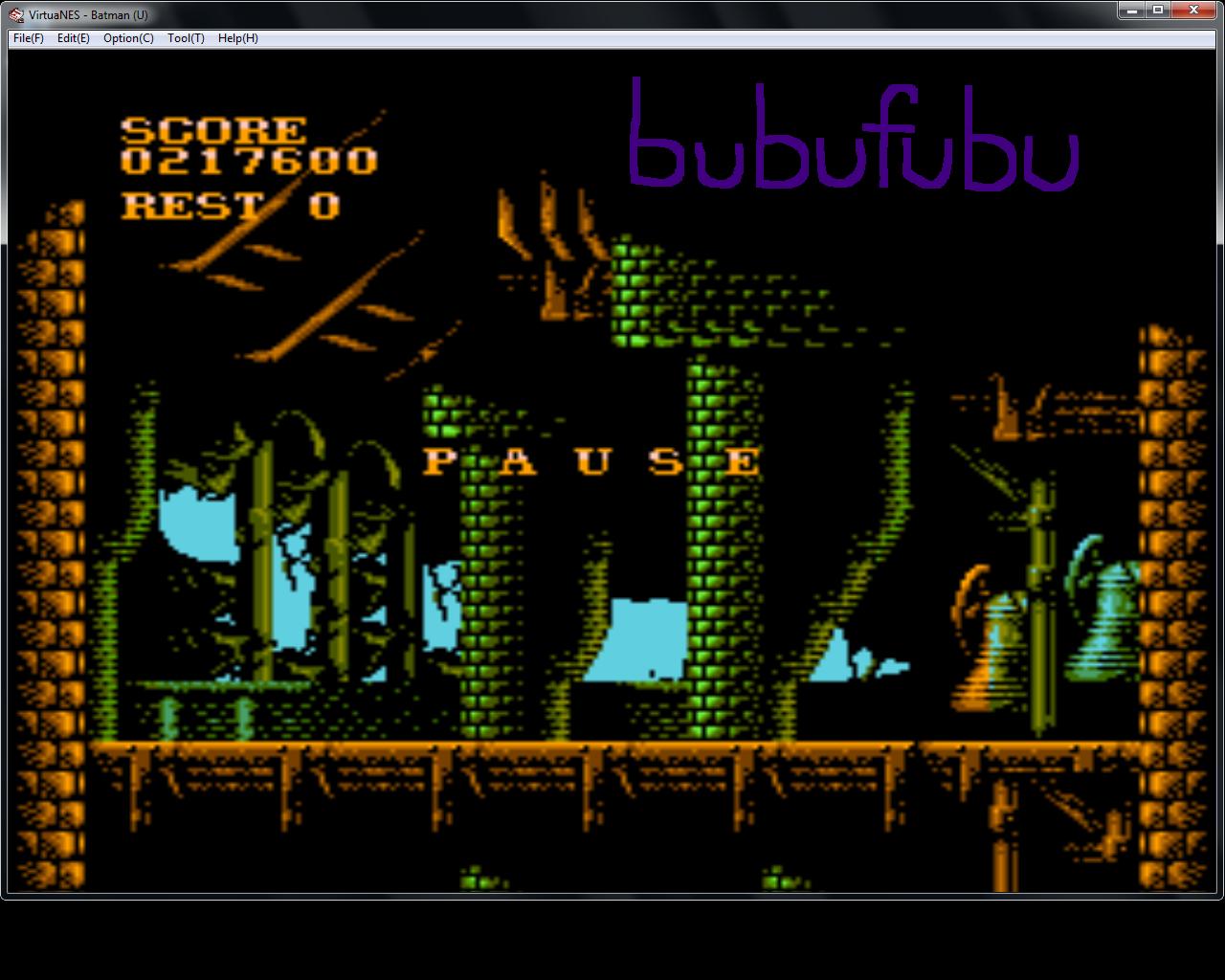 bubufubu: Batman (NES/Famicom Emulated) 217,600 points on 2015-08-12 22:37:20