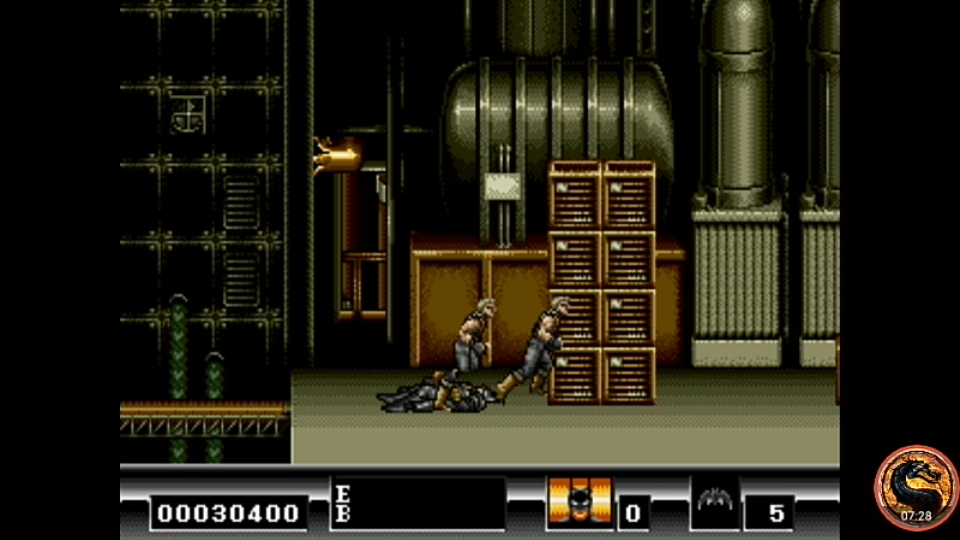 omargeddon: Batman (Sega Genesis / MegaDrive Emulated) 30,400 points on 2019-11-30 21:16:17