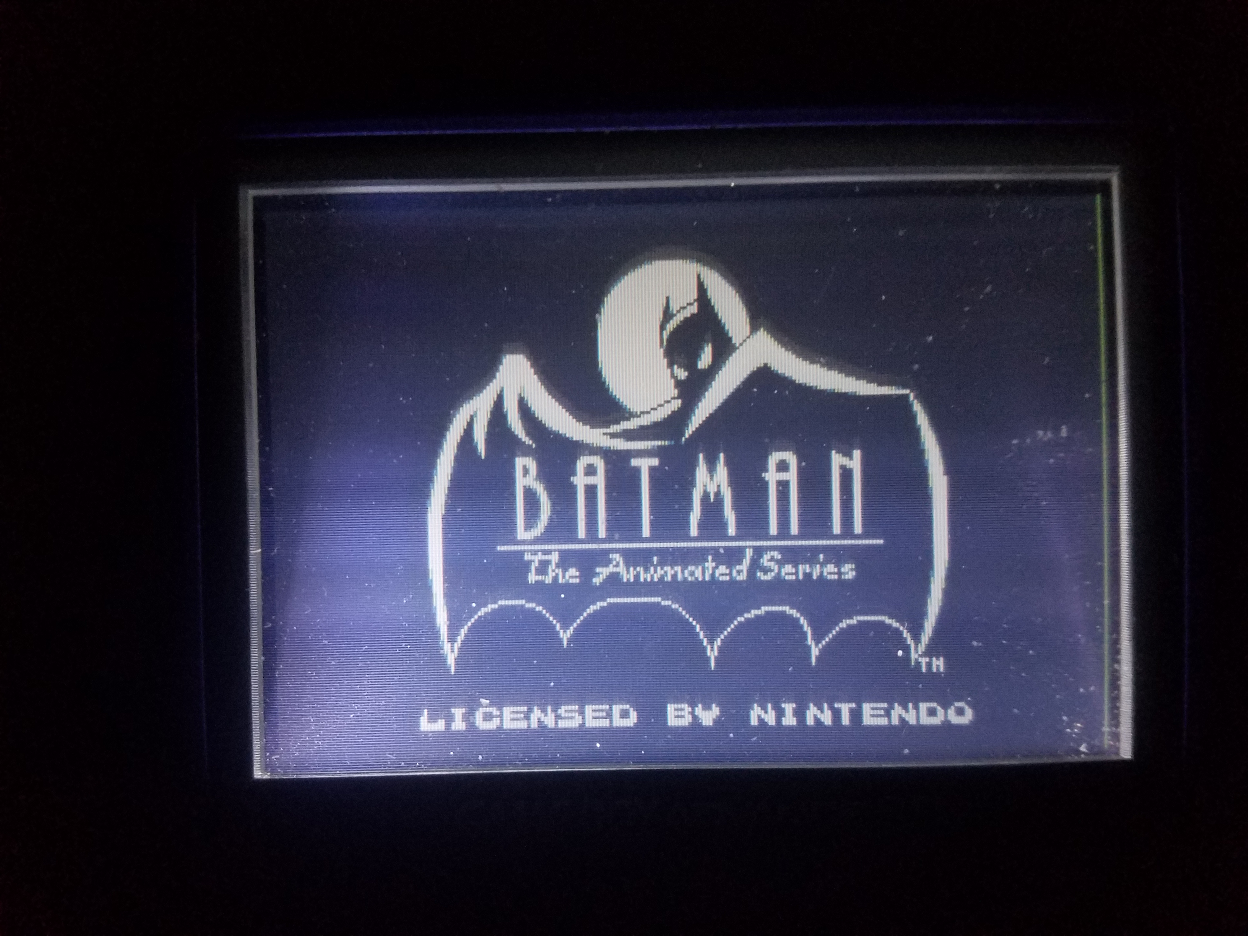 8bitDeity: Batman The Animated Series (Game Boy) 2,880 points on 2018-05-14 02:55:51