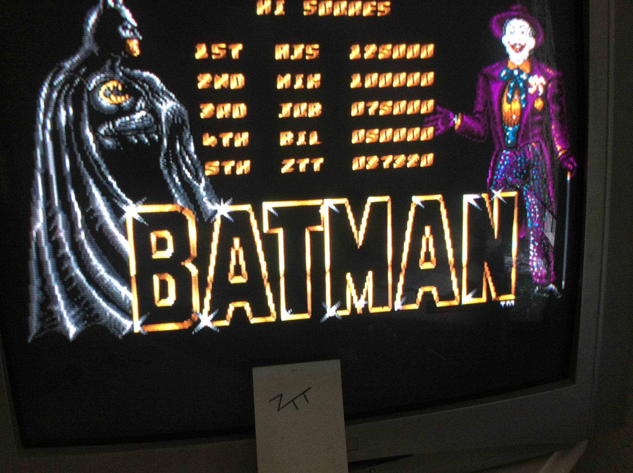 Frankie: Batman The Movie (Amiga) 37,320 points on 2016-07-10 05:12:28