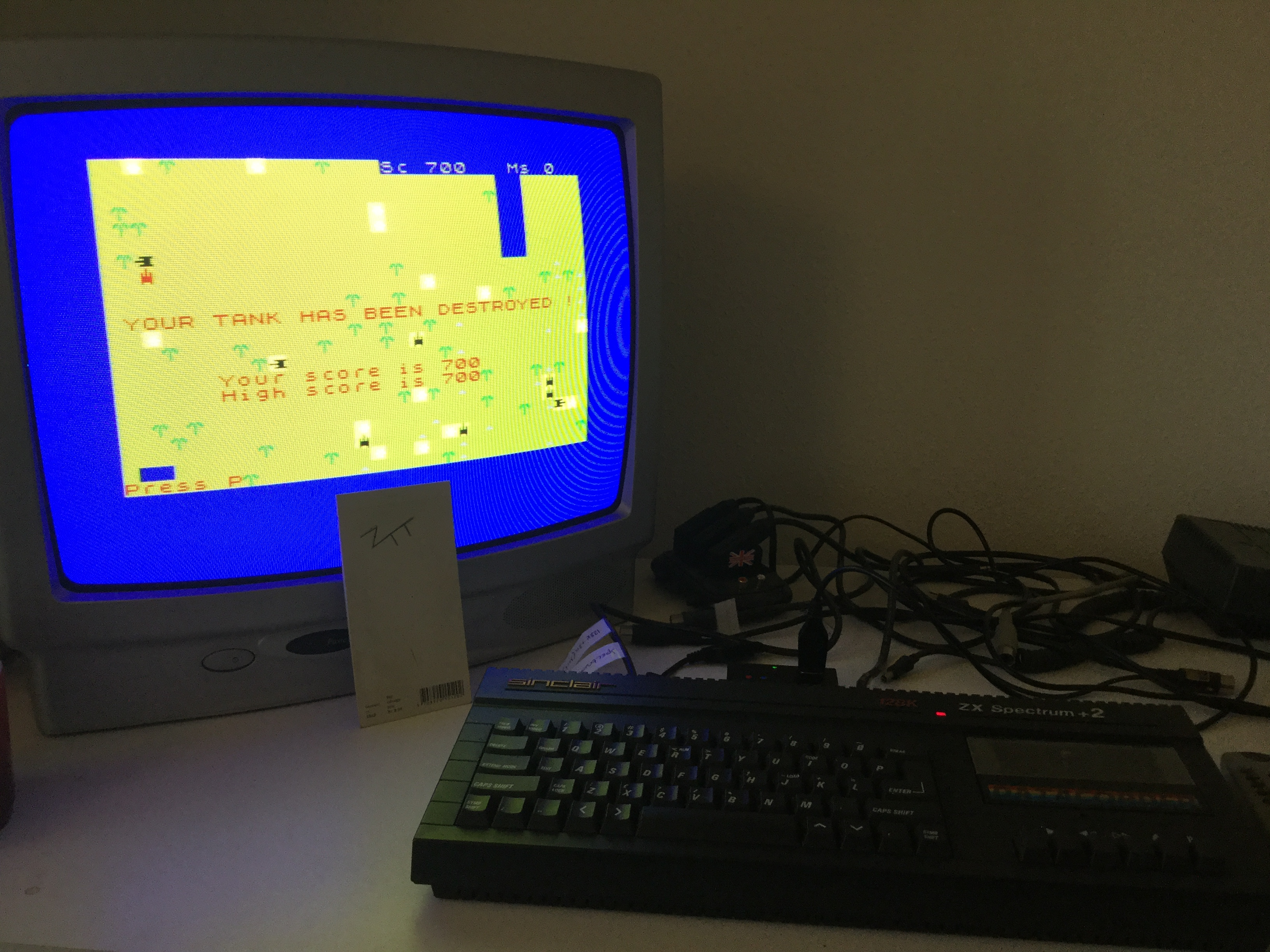 Frankie: Battle [Abacus Programs] (ZX Spectrum) 700 points on 2017-12-28 03:01:26