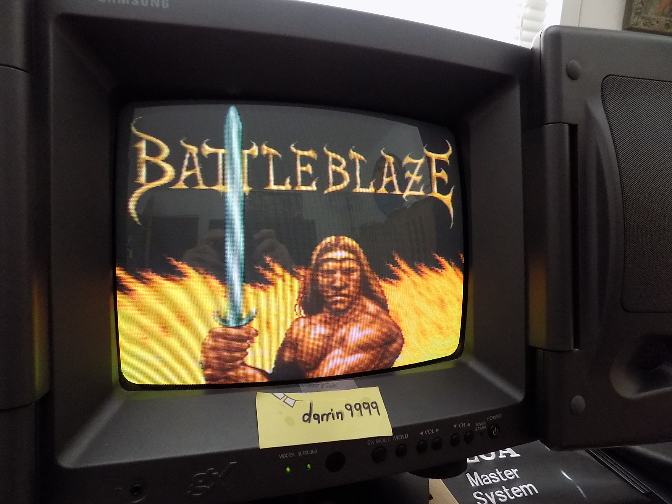 Battle Blaze 21,300 points