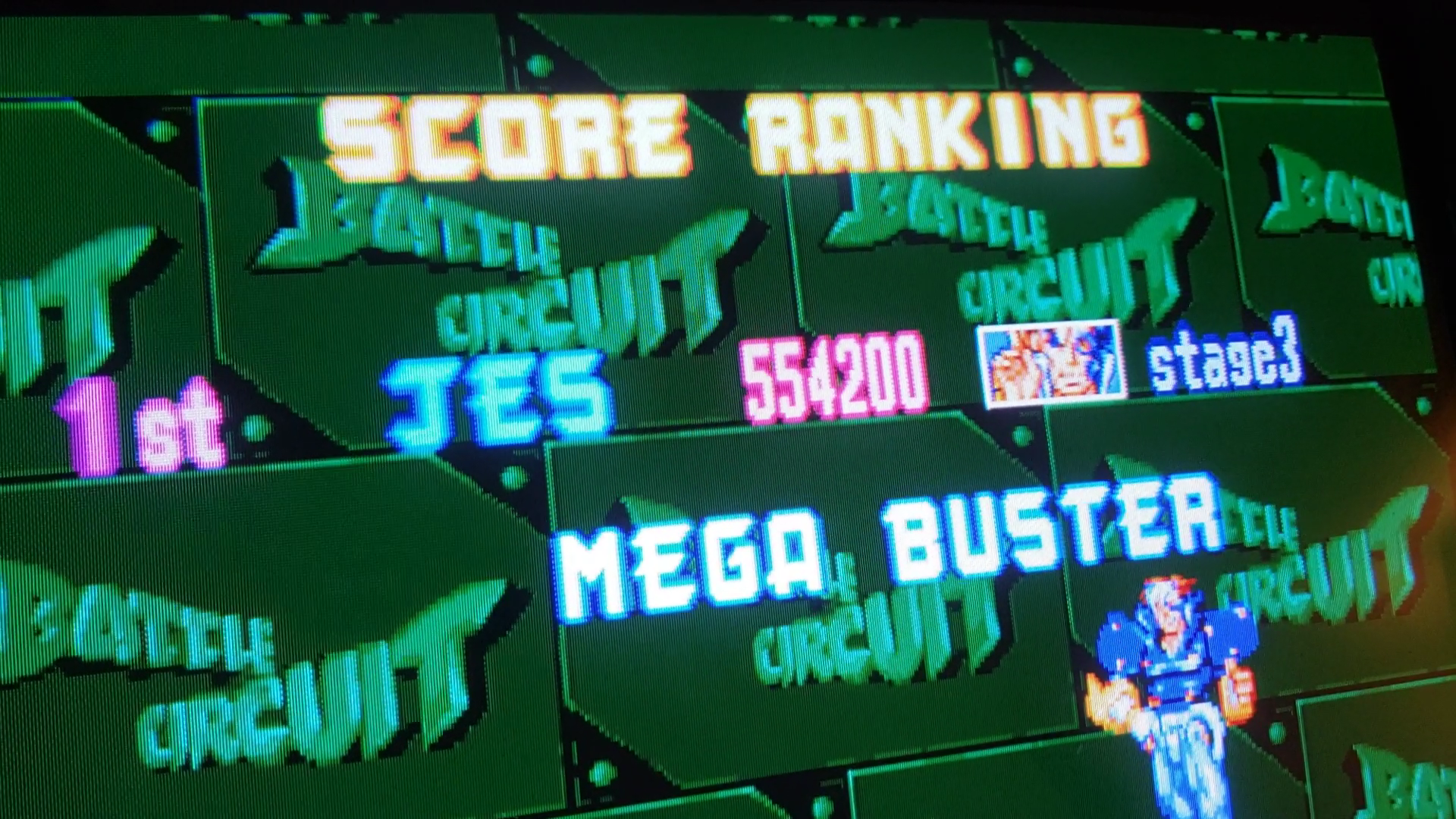 JES: Battle Circuit (Arcade Emulated / M.A.M.E.) 554,200 points on 2020-09-17 22:48:33