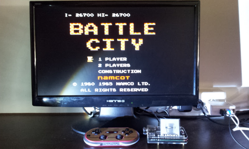 Larquey: Battle City (NES/Famicom Emulated) 26,700 points on 2017-07-29 11:38:13