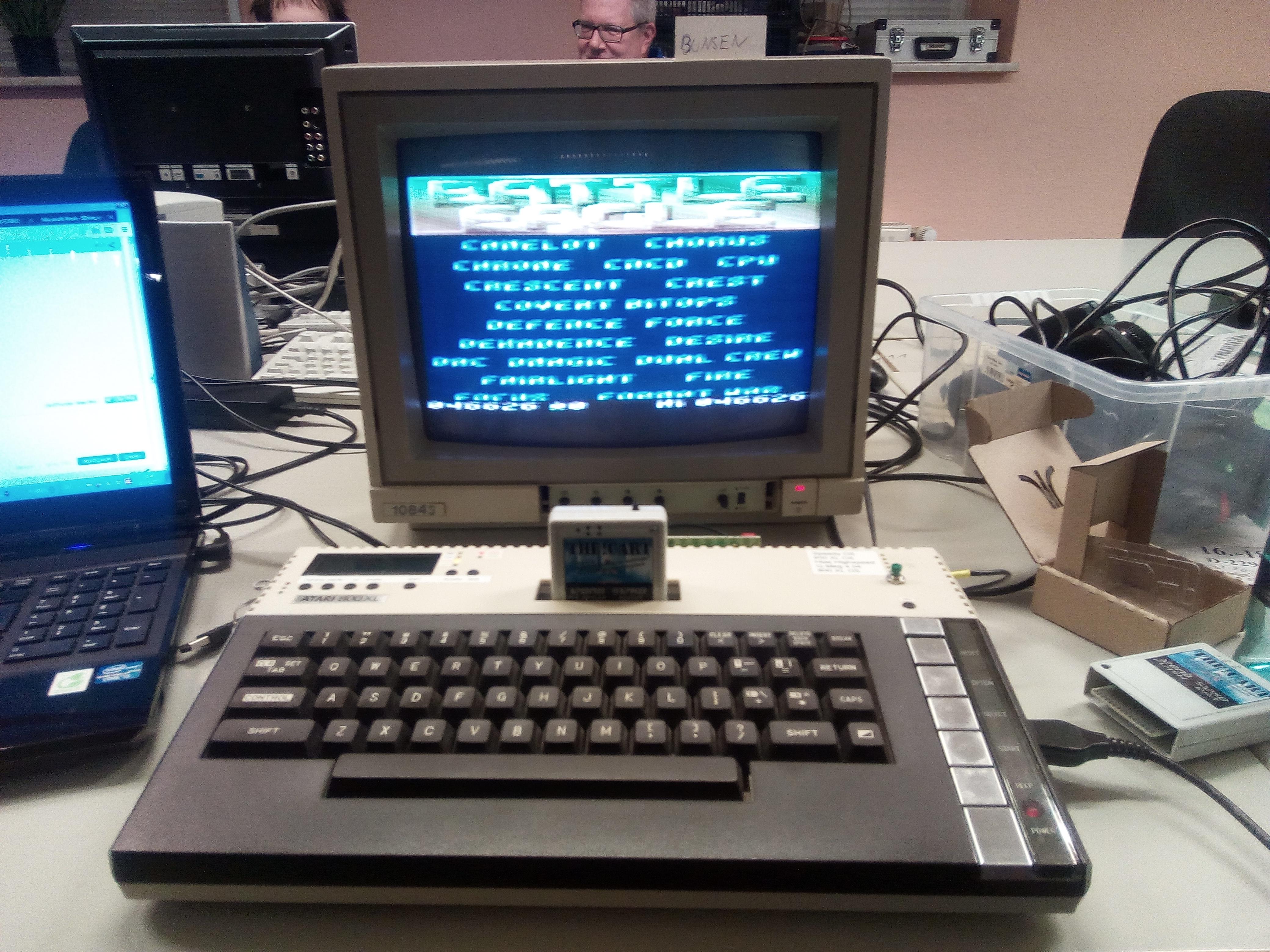 Bunsen: Battle Eagle (Atari 400/800/XL/XE) 46,626 points on 2017-12-09 14:44:25