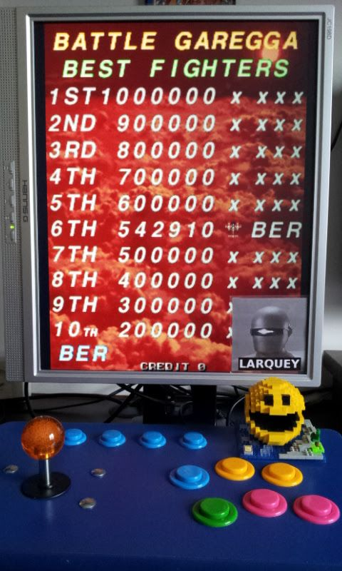 Larquey: Battle Garegga [Type-2] [bgareggacn] (Arcade Emulated / M.A.M.E.) 542,910 points on 2017-04-30 04:23:47