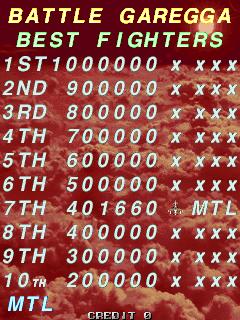 Mantalow: Battle Garegga [bgaregga] (Arcade Emulated / M.A.M.E.) 401,660 points on 2015-07-04 03:30:35