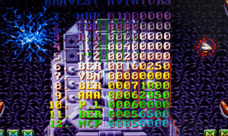 Larquey: Battle Squadron (Amiga Emulated) 160,250 points on 2017-08-28 11:10:45