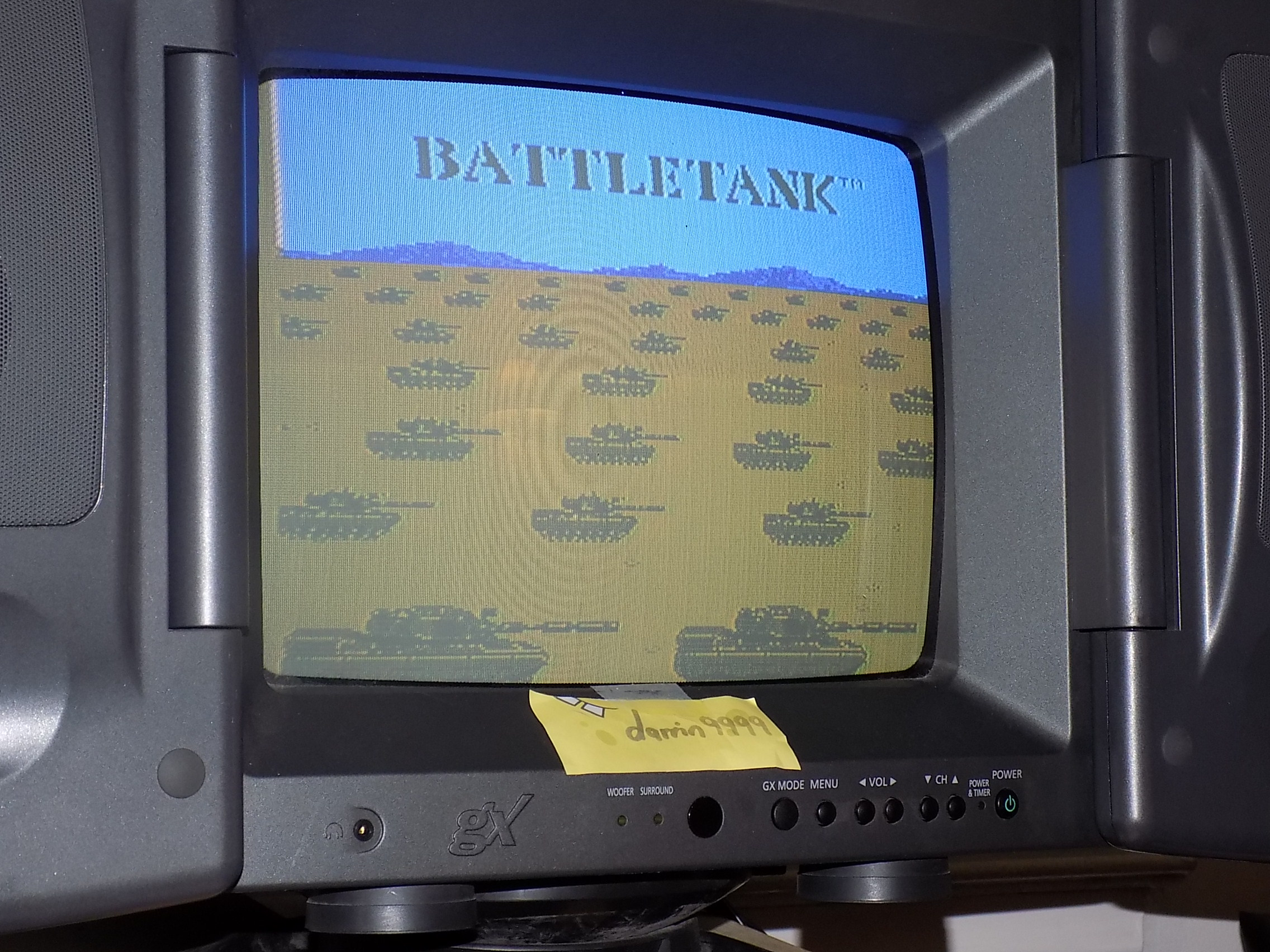darrin9999: Battle Tank (NES/Famicom) 1,900 points on 2018-01-24 00:13:00
