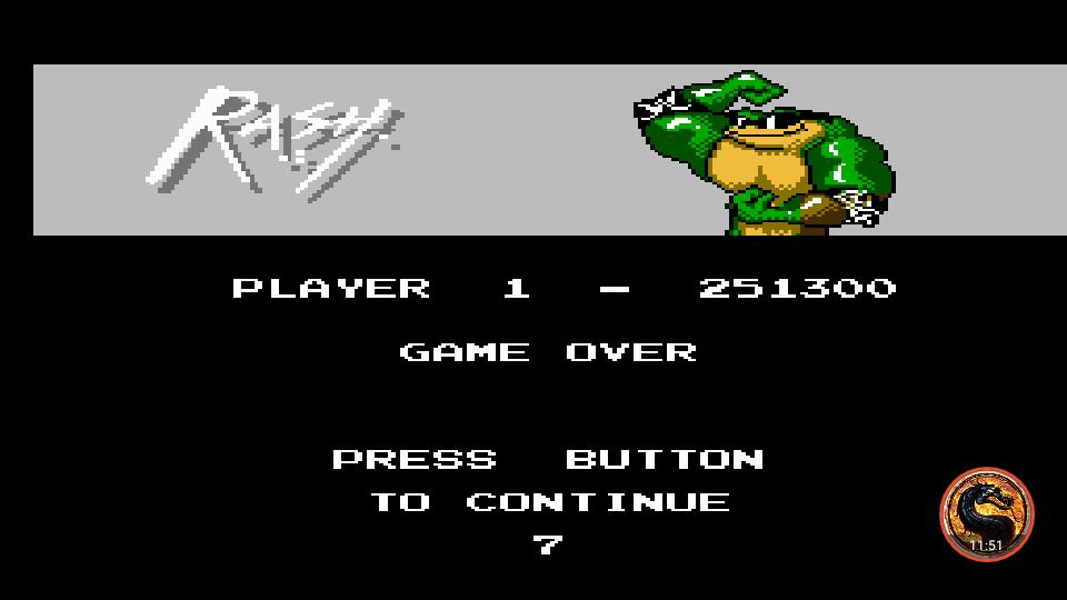 omargeddon: Battletoads [Japan Version] (NES/Famicom Emulated) 251,300 points on 2019-05-28 20:26:42