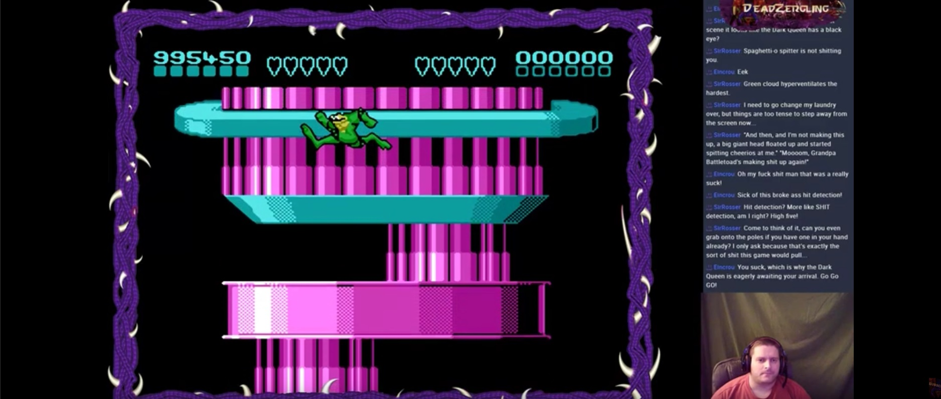 Battletoads 995,450 points