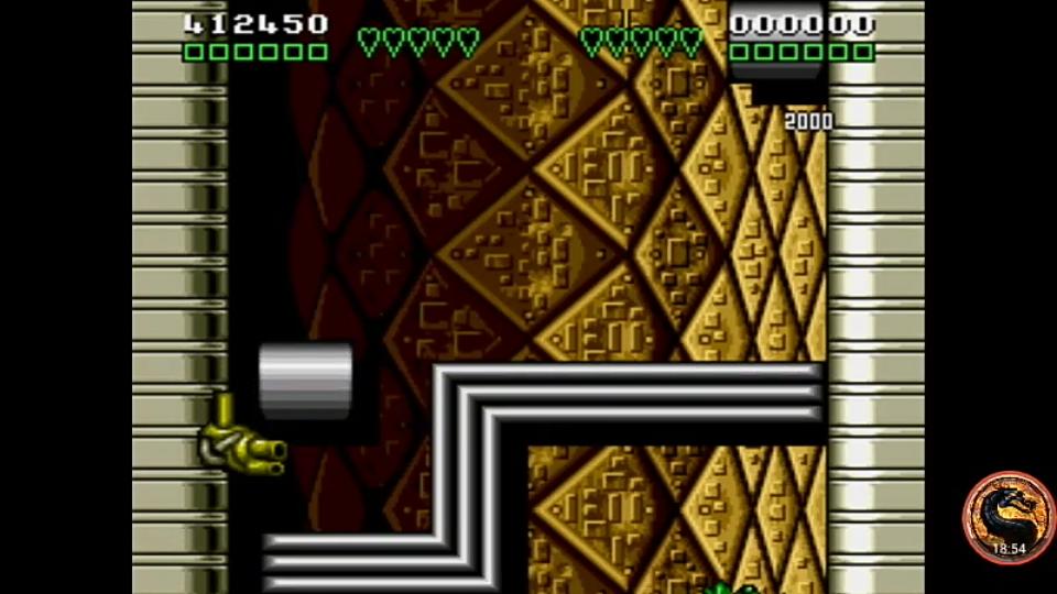 omargeddon: Battletoads and Double Dragon: The Ultimate Team (Sega Genesis / MegaDrive Emulated) 412,450 points on 2019-01-17 10:46:22