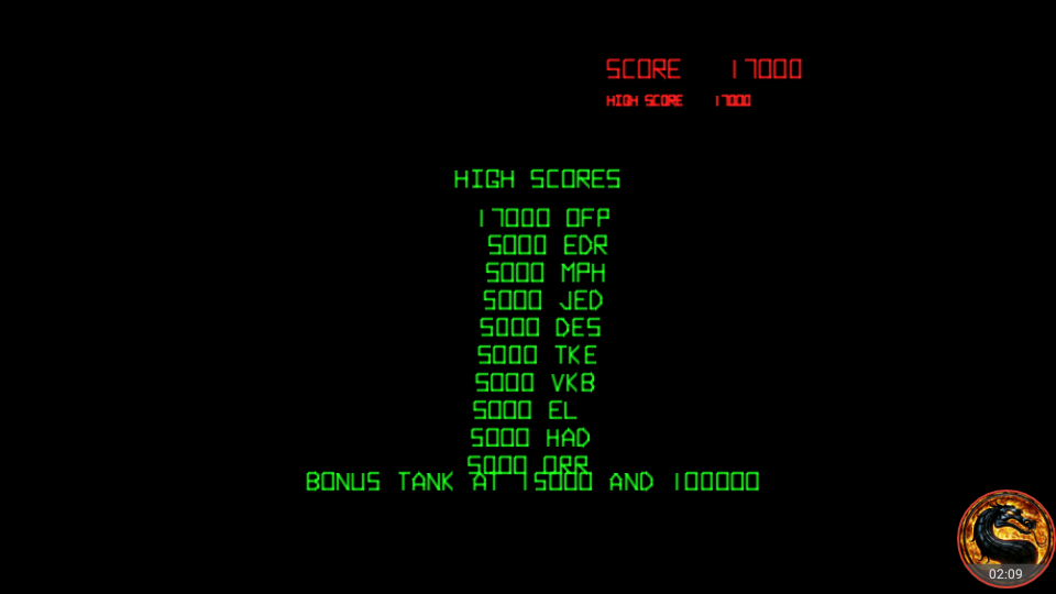 omargeddon: Battlezone (Arcade Emulated / M.A.M.E.) 17,000 points on 2018-10-02 00:25:26