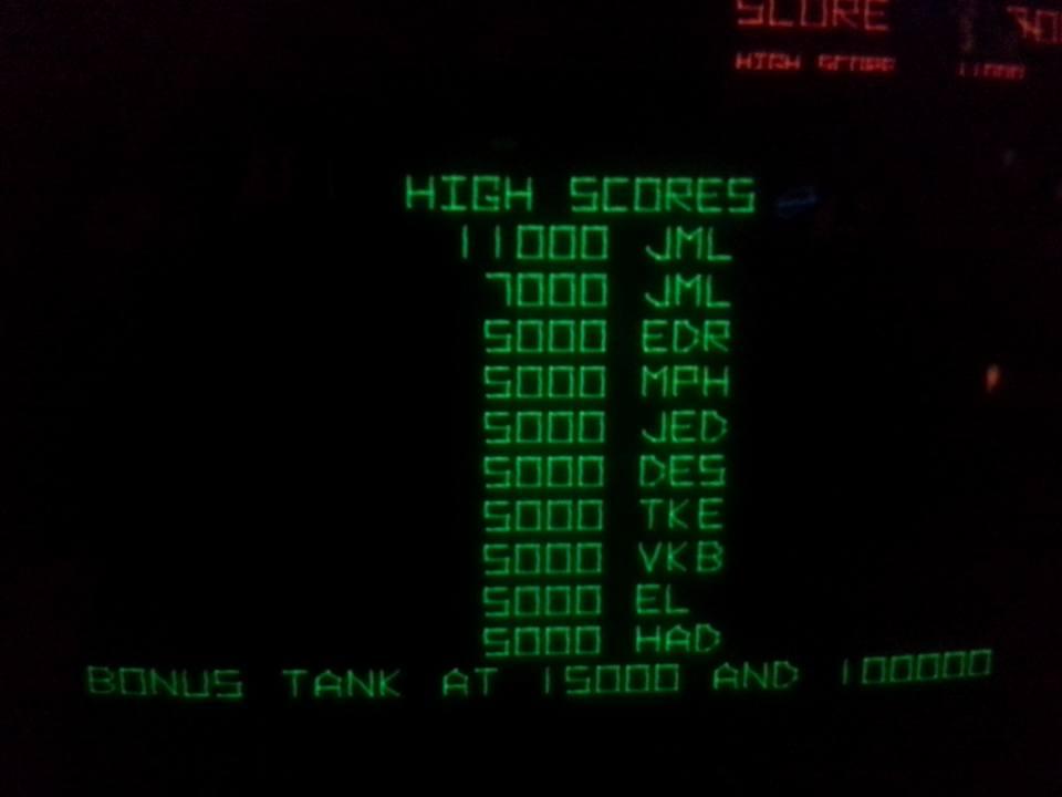 Battlezone 11,000 points